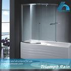 cheap 6mm tempered glass sliding shower screen