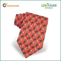 Fashion Design Polyester Anime Tie