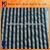 textile fabric black and white stripe yarn dyed fabric stretch fabric