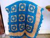 Baby Alpaca knitted blanket