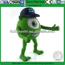 Toy store animal figurine,Big eyes plastic animal figurine,Custom small plastic animal figurine