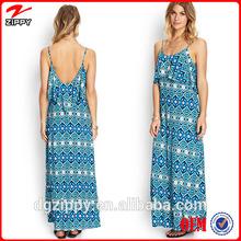 Strap Sleeveless Jersey Maxi Dress online shopping china clothes