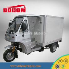 Hot chongqing semi cabin motor tricycle