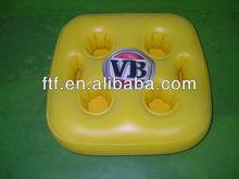 Inflatable beer bottle holder for promotion