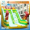 0.55mm PVC tarpaulin giant inflatable water slide for kids