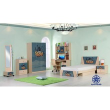 single size children bed design furniture with spide man photo