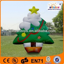 newest fashion inflatable christmas product christmas tree