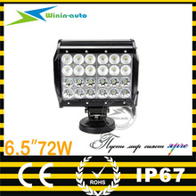 6.5inch 72W 4000i,hid driving light,hid off road light 35/55w/75w/100w 12v/24v