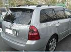 TY048 ABS car rear roof spoiler for TOYOTA FIELDER 2001-2006