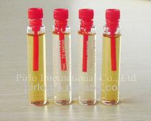 1ml 2ml perfume samples vial with plastic applicator