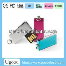 Low Cost Mini Metal USB Flash Drive 2.0 , Different types USB Pen/USB Key/USB Stick