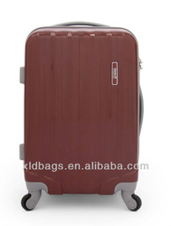 Hard cover luggage trolley luggage travel bags