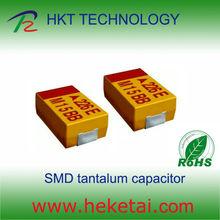 Chip Tantalum Capacitor 2.5V 470uF Case C