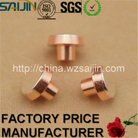 Electrical Contacts Brass Silver Welding