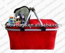 2011 fashion picnic basket cooler EB-C044B