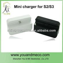 batteria di potenza dock caricabatteria da tavolo per samsung galaxy i9300 s3