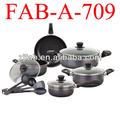 Aluminio cookare conjunto, Utensilios de cocina made in china