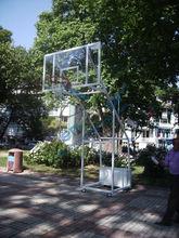 4-Poles, Portable Basketball Hoop