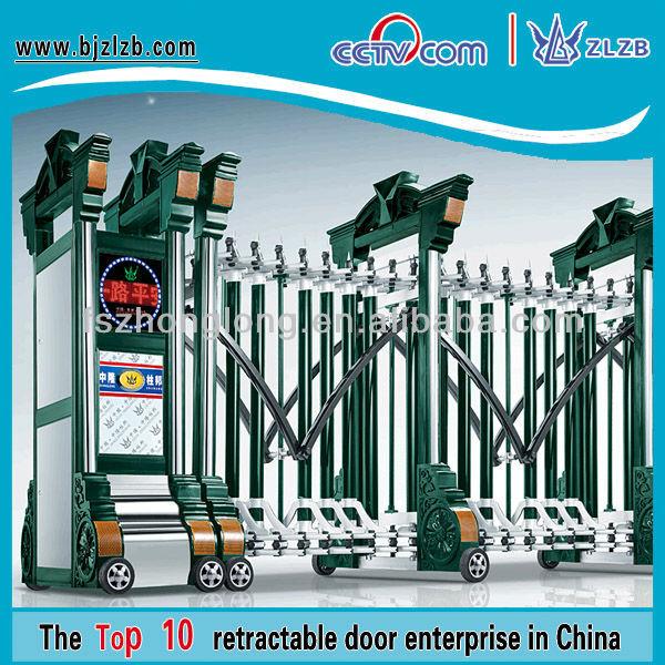 Modelos de gates e cerca de ferro portão principal projeta