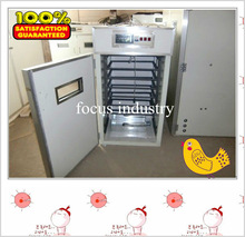 egg incubator for 440 chicken eggs with optional hatching basket
