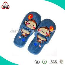 Wholesale Comfortable Boys Soft Fleece Indoor Slippers