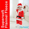 Q1173 Tolo Rabbit 2013 Baby Photography Fashion Christmas Suits(dress+hat) Red Baby Clothing Suit Santa Children Xmas Outfit