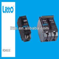 THQL Miniature circuit breaker earth leakage 6A~100A,110V~415V,1P~4P