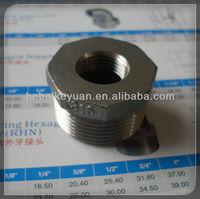 Investment casting hex. bushings (Cangzhou Keyuan Hardware)