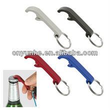 Metal Bottle Opener Keyring - -Metallic Colours