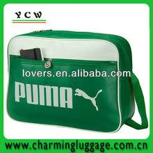 Customized men's shoulder bags/PU leather shoulder bag