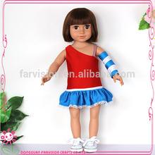 School cheerleader girl doll for wholesale OEM dolls for girls