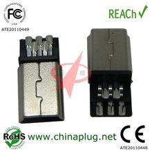 Chinese 5pin plug Mini Usb Connector