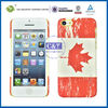 C&T Flag pattern hard plastic phone case for iphone 5c