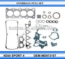 engine gasket repair kit for mitsubishi sport-4 4G64 MD973157