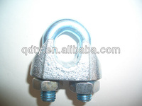 Galv Malleable Wire Rope Clip DIN741 Clips china supplier clamp