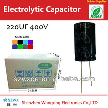 High Quality Low Price 220UF400V High Voltage Capacitor