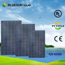 poly crystalline bipv modules solar panel