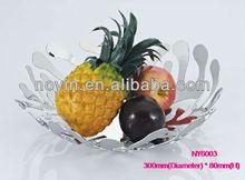 Household nice stainless steel fruit plate