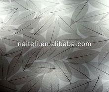 Brown Leave/Leaf Varia Translucent Poly Resin Panel