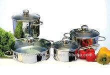 8 pcs induction Cookware Set model Endotermica