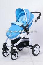 B858 Four Wheels Aluminium Baby Stroller(2 In 1)