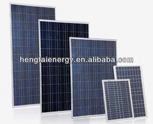 100w high efficiency mono/poly silicon photovoltaic solar panel