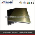 Cladding aluminum composite panel extrusions
