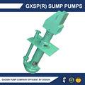 aspiration de la pompe centrifuge verticale submersible de sable