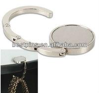 metal purse foldable handbag hanger stand (JL-BH-13101005)