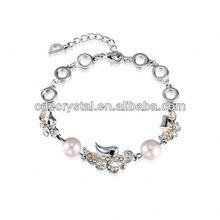 New Design Crystal write on bracelet id bracelets