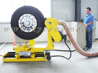 tyre retreading-manual remove worn surface machine for new pattern