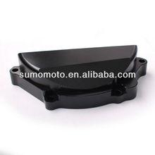 Aluminum Black Motor Engine Cover Protector for Suzuki GSX-R600 2006-2009, Suzuki GSX-R750 2006 -2009 CNC-EC-002