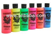 UV Face Paint, Uv Body Paint, Fluorescent body Paint, glow paint