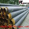 PVC/silicone/silicone rubber coated Insulating Fiberglass Pipe